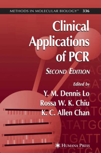 9781617375118: Clinical Applications of PCR (Methods in Molecular Biology)
