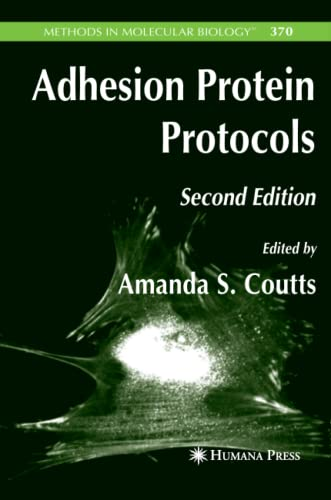 9781617376252: Adhesion Protein Protocols (Methods in Molecular Biology)