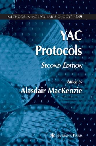 YAC Protocols (Methods in Molecular Biology): Humana Press