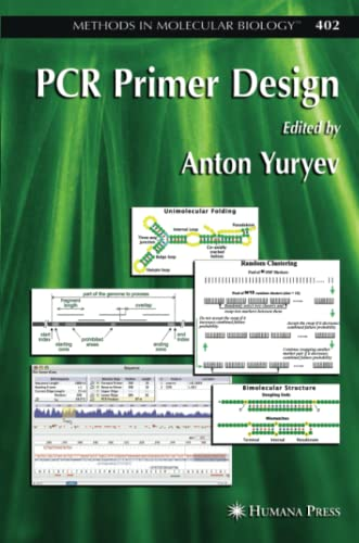 9781617377433: PCR Primer Design (Methods in Molecular Biology)
