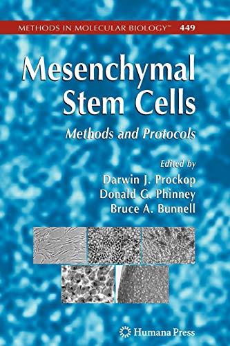 9781617377679: Mesenchymal Stem Cells: Methods and Protocols (Methods in Molecular Biology)