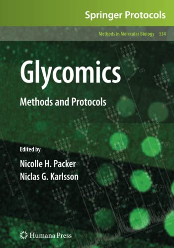 9781617377693: Glycomics: Methods and Protocols (Methods in Molecular Biology)