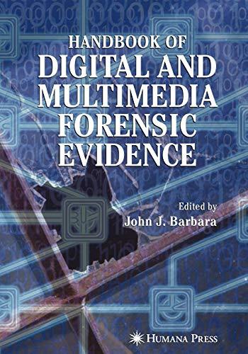 9781617377754: Handbook of Digital and Multimedia Forensic Evidence