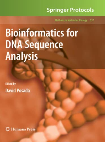 9781617378393: Bioinformatics for DNA Sequence Analysis (Methods in Molecular Biology)