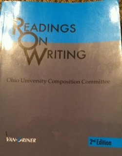 9781617401053: READINGS ON WRITING