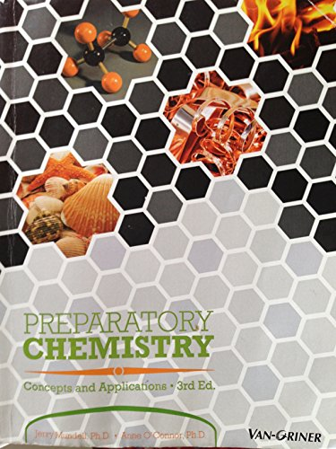 9781617401213: Preparatory Chemistry Concepts and Applications 3rd Ed