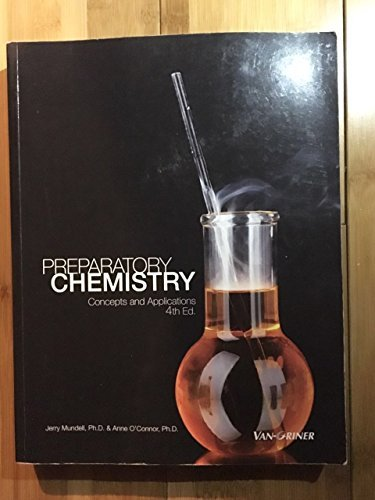 9781617401978: Preparatory Chemistry Concepts and Applications 4th Ed.