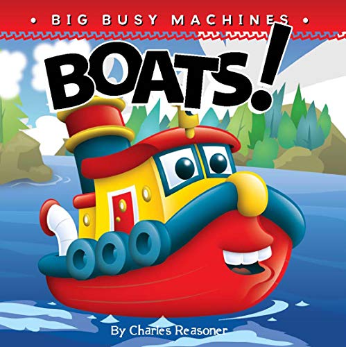 9781617418754: Boats! (Big Busy Machines)