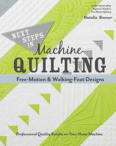 9781617451546: Next Steps in Machine Quilting - Free-Motion & Walking-Foot Designs: Professional Results on Your Home Machine