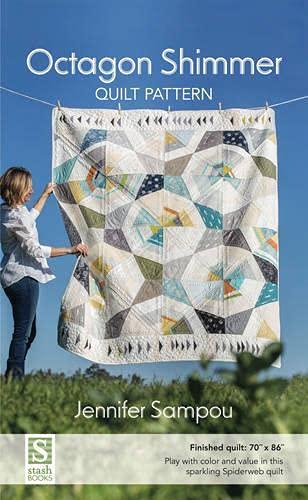 9781617452109: Octagon Shimmer Quilt Pattern: 70