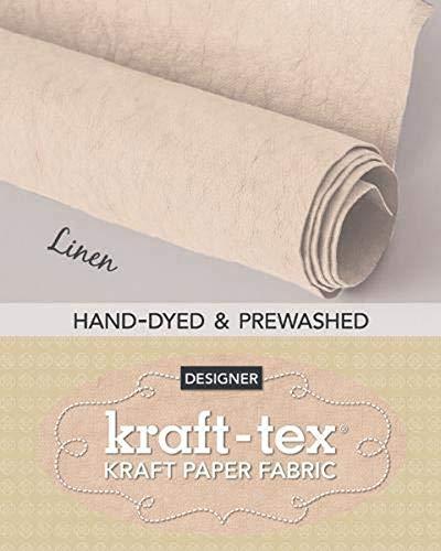 9781617458644: kraft-tex® Roll Linen Hand-Dyed & Prewashed: Kraft Paper Fabric