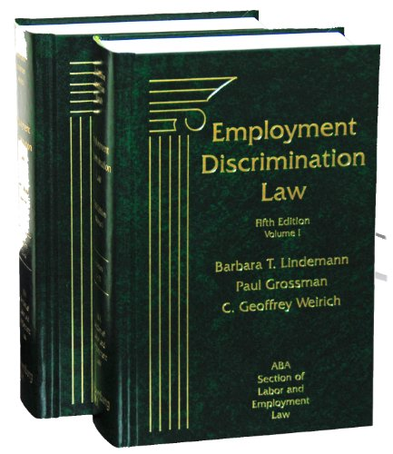 9781617460159: Employment Discrimination Law, Fifth Edition (2-Volume Set)