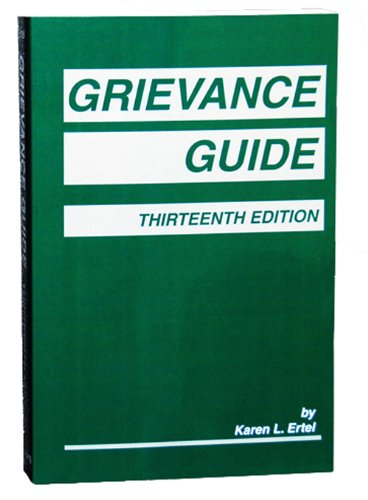 9781617460951: Grievance Guide, Thirteenth Edition