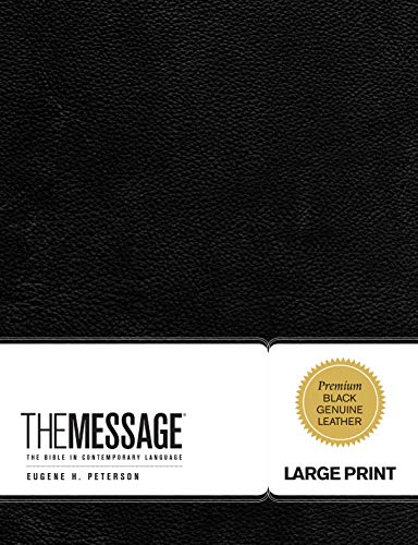 9781617471681: The Message Large Print: The Bible in Contemporary Language (First Book Challenge)