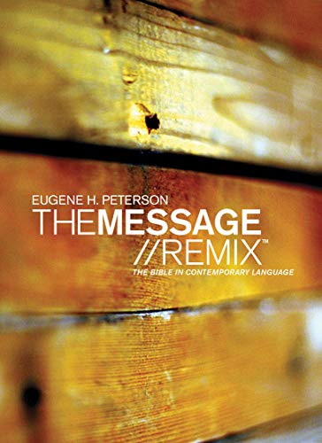 9781617479496: The Message//REMIX 2.0 Wood Paperback (Growing in Christ)