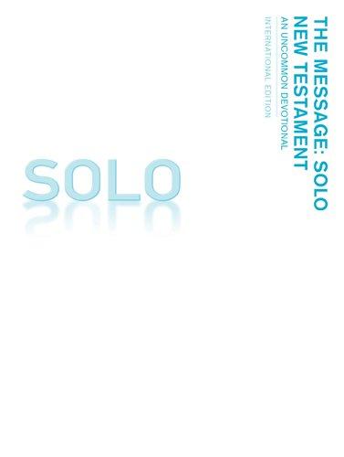 9781617479618: Message Solo Nt International Pb