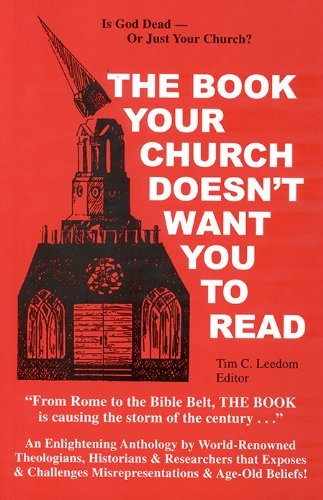 9781617590894: The Book Your Church Doesn't Want You To Read