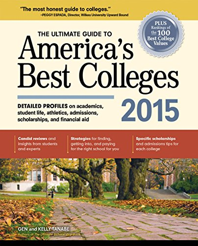9781617600449: The Ultimate Guide to America's Best Colleges 2015
