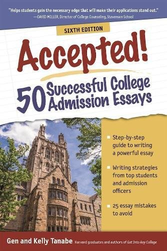 accepted admission essays Read the essay, and then proceed to the follow-up video to hear from admissions sample essay 2 we are looking for an essay that will help us know you better as a person and as a student.