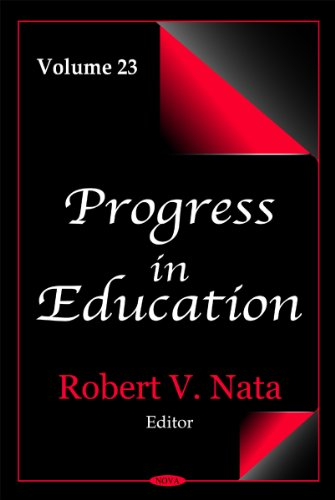 Progress in Education: v. 23 (Hardback)