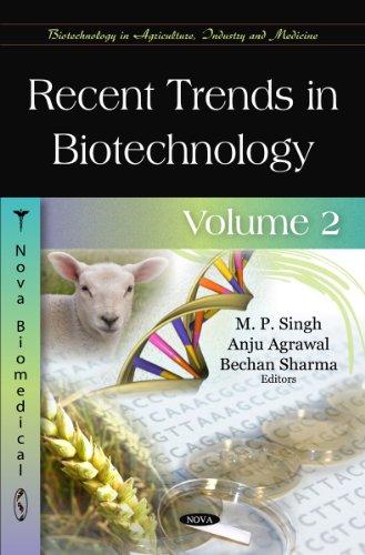 Recent Trends in Biotechnology: Volume 2 (Hardback): M. P. Singh,