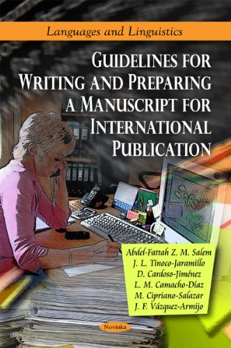 9781617617997: Guidelines for Writing and Preparing a Manuscript for International Publication (Languages and Linguistics)