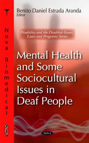 9781617619243: Mental Health and Some Sociocultural Issues in Deaf People (Nova Biomedical)