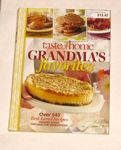 9781617651342: Taste of Home Grandma's Favorites 2012