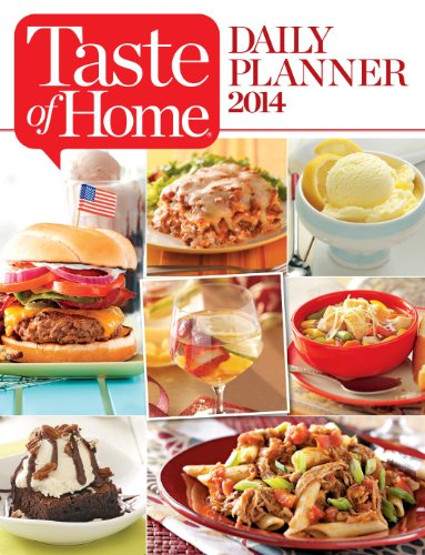 9781617652462: Taste of Home DAILY PLANNER 2014