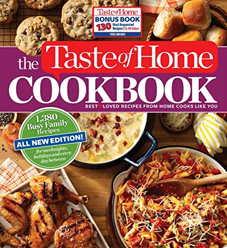 Taste of Home Cookbook 4th Edition with Bonus (Spiral)