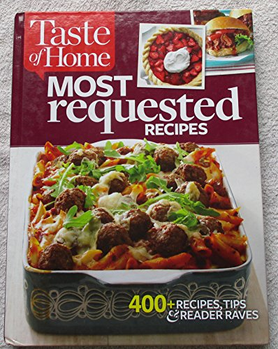 9781617655210: Taste of Home Most Requested Recipes