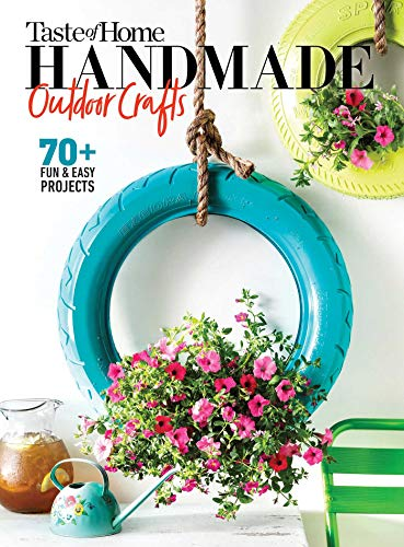Book Cover: Taste of Home Handmade Garden Crafts