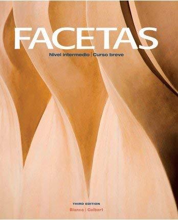 Facetas, 3rd Edition, Student Edition w/ Supersite