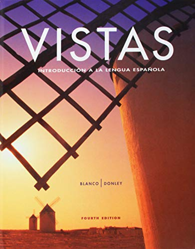 Vistas, 4th Edition Bundle - Includes Student Edition, Supersite Code, Workbook/Video Manual ...