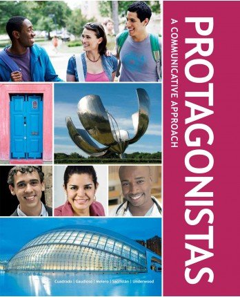 9781617670749: Protagonistas – Student Edition w/ Supersite Code and Student Activities Manual