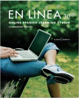 9781617671203: En línea 3.0 Online Learning System Companion Edition with En Linea 3.0 Code