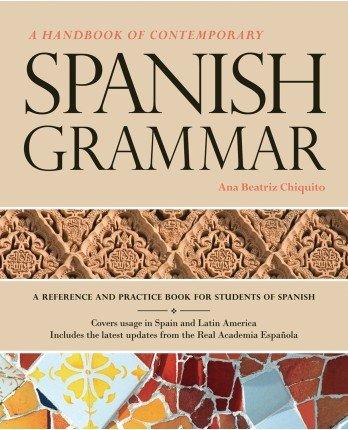 9781617671579: A Handbook of Contemporary Spanish Grammar with Supersite Plus Code (Supersite + Blackboard IM)