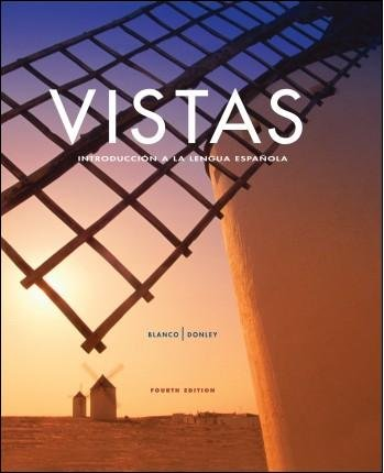 Vistas 4th Ed Looseleaf Textbook with Supersite
