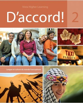 D'Accord 2 Student Edition, vText with Supersite Code