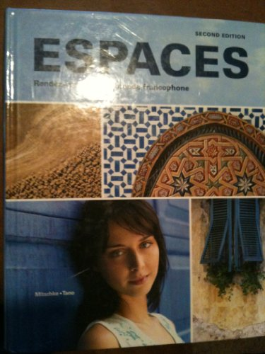 Espaces, 2nd Edition, Workbook/Video Manual: Vista Higher Learning