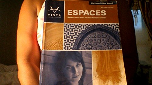 9781617675812: Espaces, 2nd Edition, Workbook/Video Manual