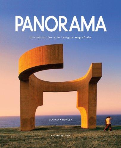 Panorama: Introduccion a la lengua Espanola, 4th: Blanco, Jose A.;