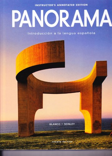 9781617677090: PANORAMA:INTRO....>INSTRS.ANNO