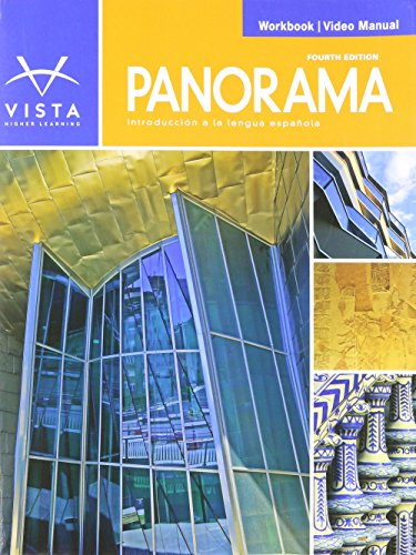 Panorama 4e Workbook/Video Manual