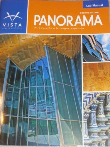 Panorama Lab Manual - 4th Edition