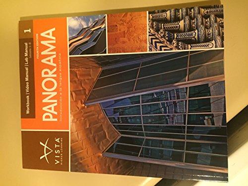 9781617677137: Panorama, 4th Edition, Volume 1 Workbook/Video Manual
