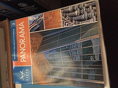 9781617677144: PANORAMA,VOLUME 2-WORKBOOK/VID