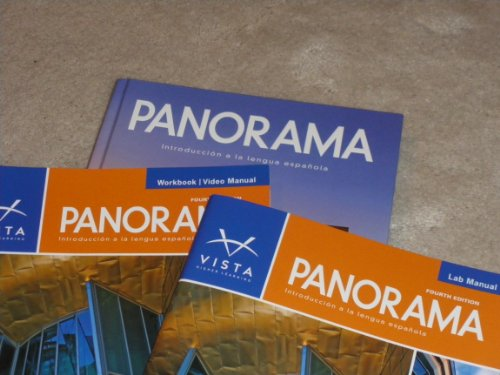 Panorama, 4th Edition, Student Edition, Supersite Code, Workbook/Video Manual and Lab Manual