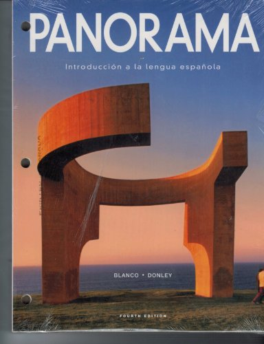 9781617677632: Panorama, 4th Edition, Looseleaf Student Edition w/ Supersite Plus Code (Supersite, vText & WebSAM)