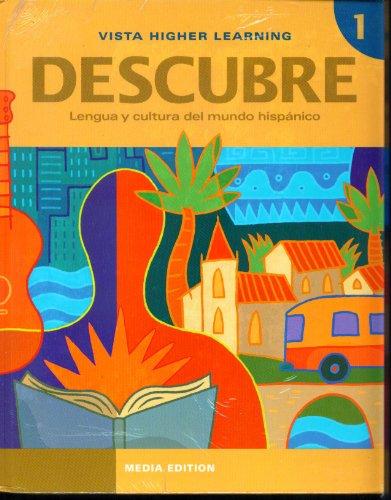 9781617679209: Descubre Media Edition Level 1 - Student Edition, Supersite Code, Cuaderno de Actividades, Cuaderno de Practica